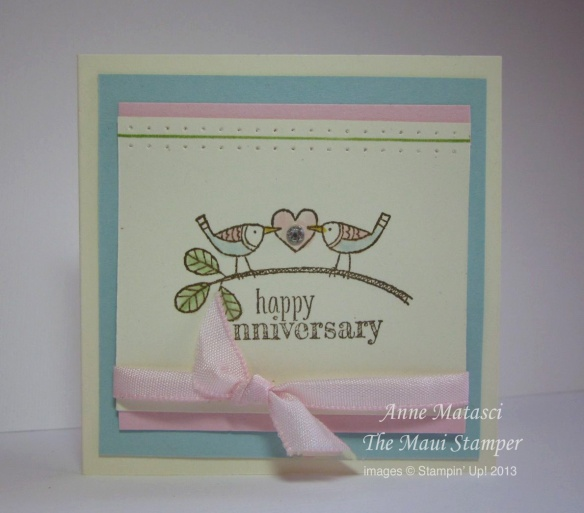 Stampin' Up! Maui Stamper RemARKable Best of Blog Tour Brides and Babies