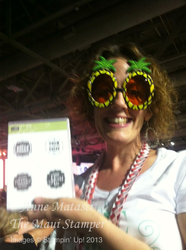 Stampin' Up! Maui Stamper Convention Day 1 Be the Difference