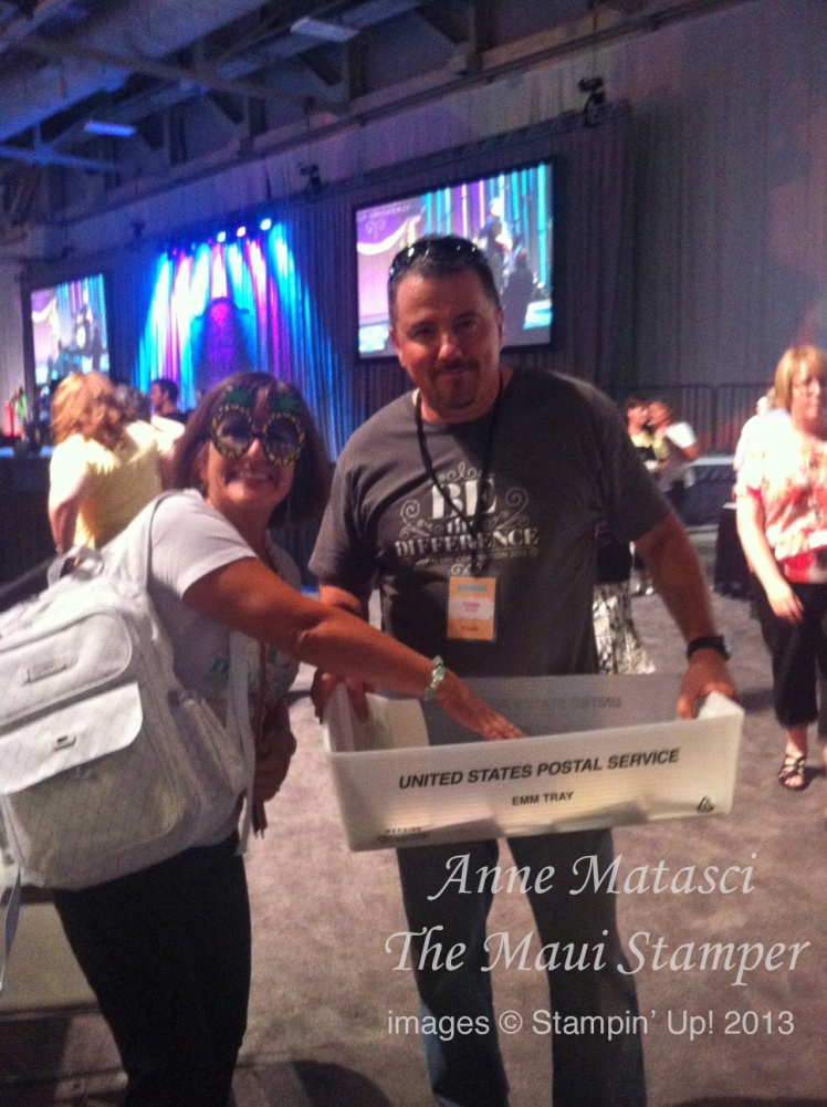 Stampin' Up! Maui Stamper Convention Day 1 Be the Difference Guinness World Record