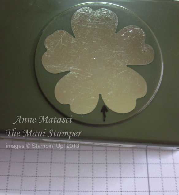 Stampin' Up! Maui Stamper How to Punch the Flower Shop Pansy