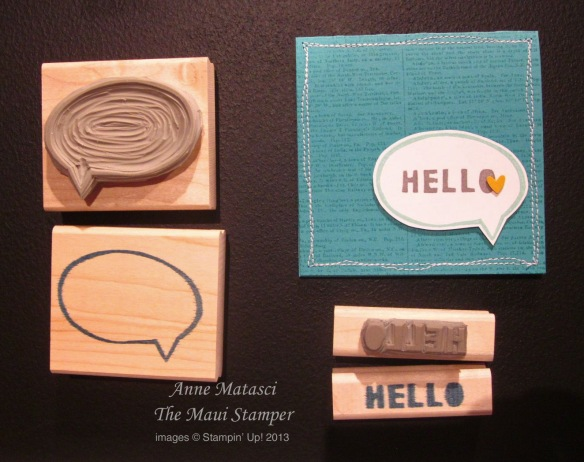 Maui Stamper Stampin' Up! Undefined Carve Your Own Stamp