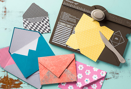 Maui Stamper Stampin' Up! Envelope Punch Board