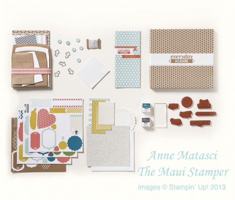 Maui Stamper Everyday Occasions Card Kit 2013