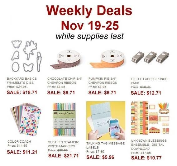 Maui Stamper Weekly Deal Nov 19-25, 2013
