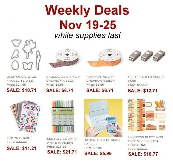 Maui Stamper Weekly Deal Nov 19-25, 2013