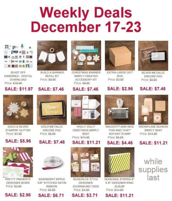 Maui Stamper Weekly Deal December 17, 2013