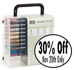 Many Marvelous Markers 30% off November 20 ONLY