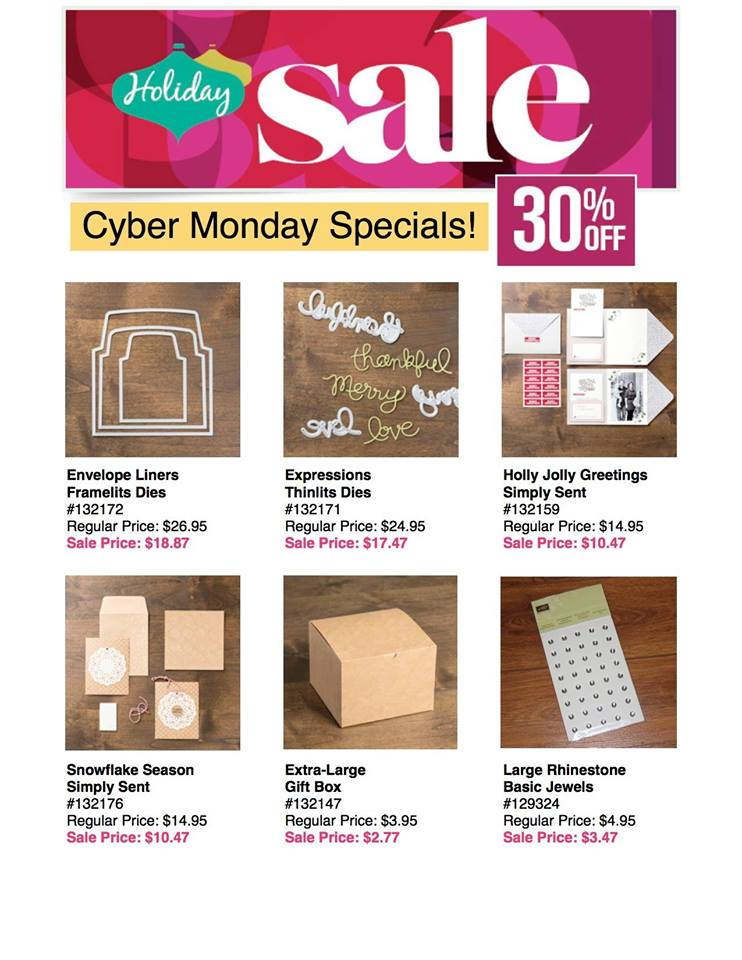 Maui Stamper 2013 Cyber Monday Holiday Sale