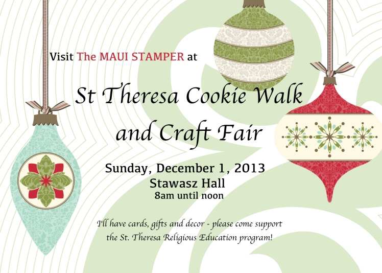 St. Theresa Church Cookie Walk and Craft Fair
