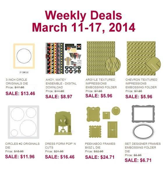 Maui Stamper Deals March 11-17 2014