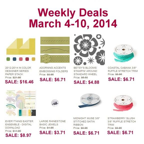 Maui Stamper Stampin' Up! DEALS March 4-10 2014