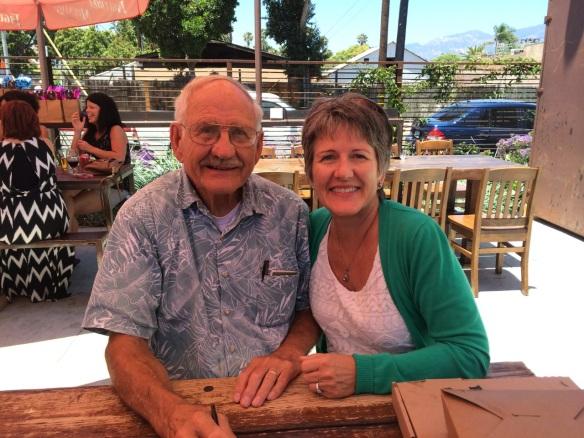 Maui Stamper with Dad