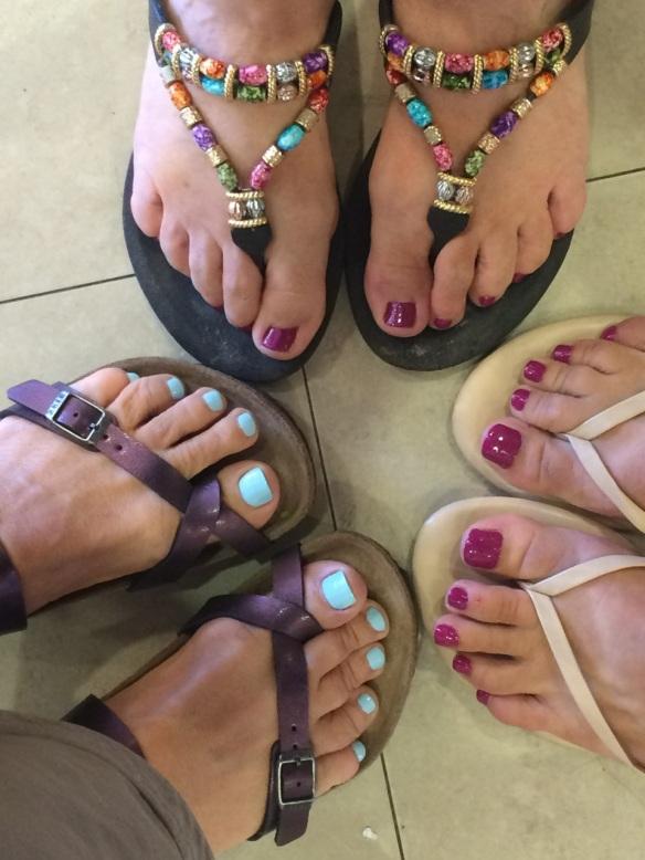 Maui Stamper Girl Time Pedicures