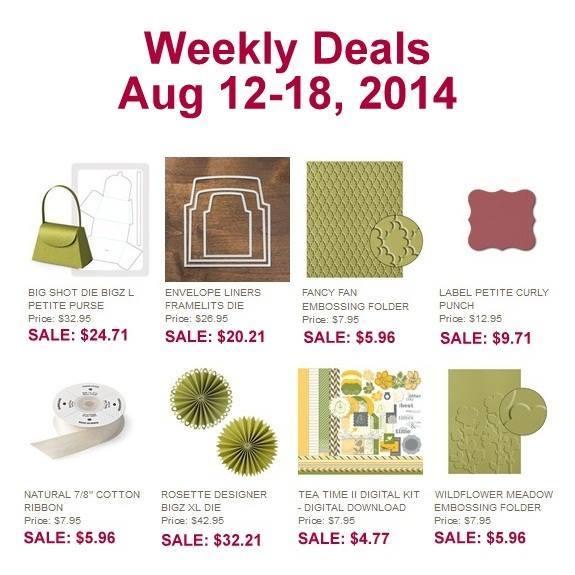 Maui Stamper Weekly Deals August 12-18, 2014
