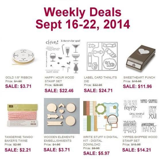 Maui Stamper Weekly Deals Sept 16-22 2014