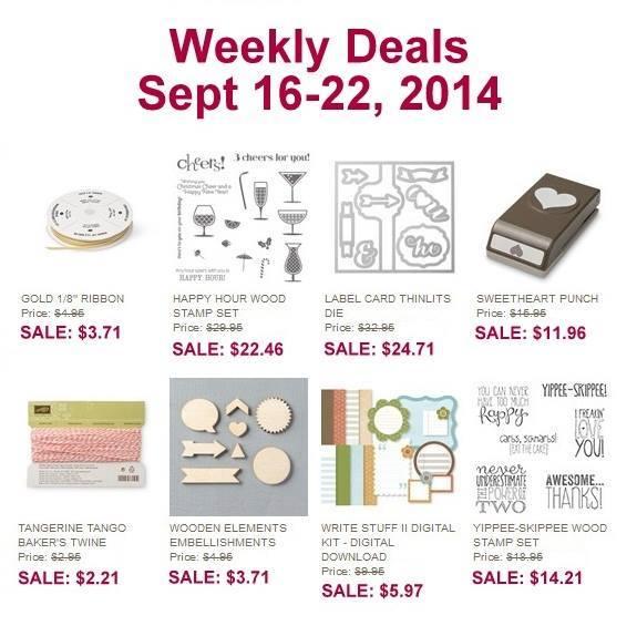 Maui Stamper Weekly Deals Sept 16-22 2014