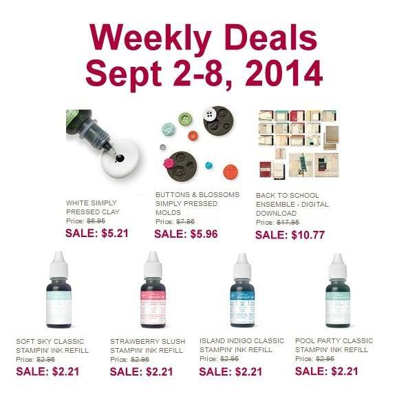 Maui Stamper Weekly Deals September 2-8 2014