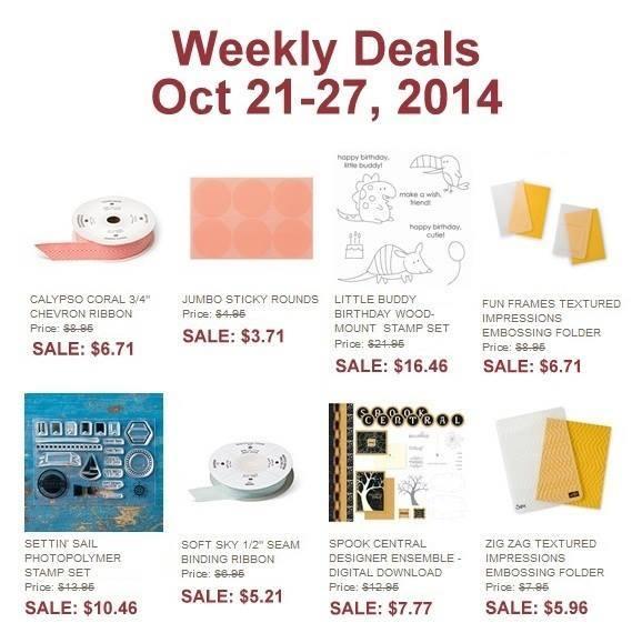 Maui Stamper Weekly Deal October 21-27, 2014