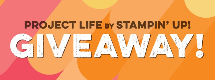Maui Stamper Project Life by Stampin' Up! Giveaway
