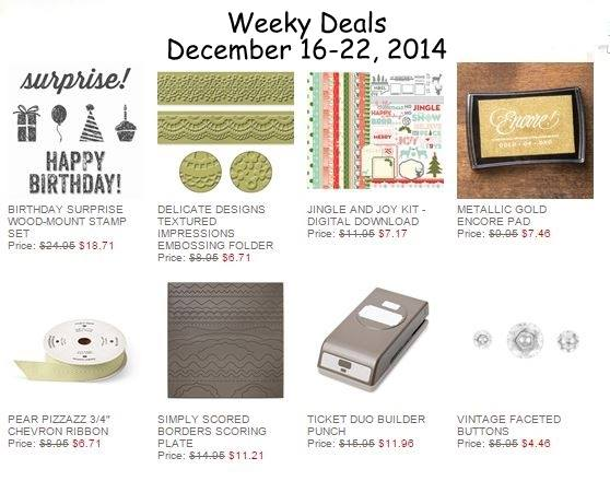 Maui Stamper Weekly Deals December 16-22, 2014