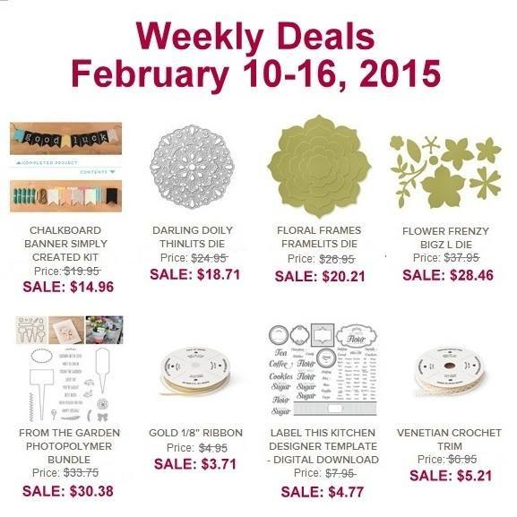 Maui Stamper Weekly Deals February 10-16 2015