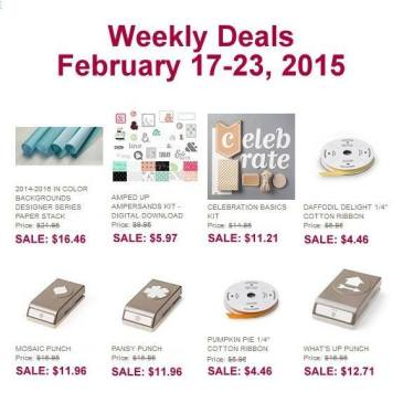 Maui Stamper Weekly Deal February 17-23, 2015