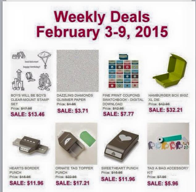Maui Stamper Weekly Deals February 3-9, 2015