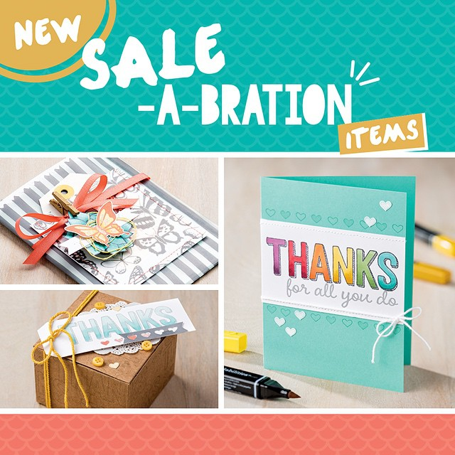 Maui Stamper March Sale-a-bration New Items