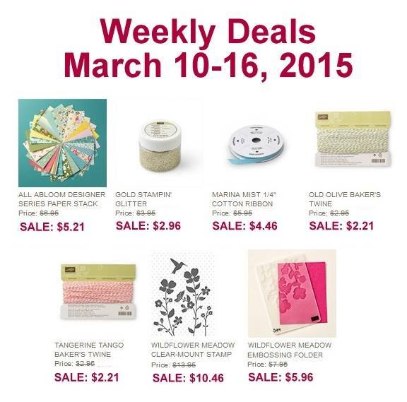 Maui Stamper Weekly Deals March 10-16, 2015