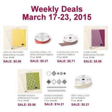 Maui Stamper Weekly Deals March 17-23, 2015