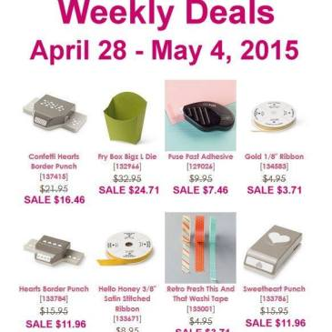 Maui Stamper Weekly Deals April 28 to May 4 2015