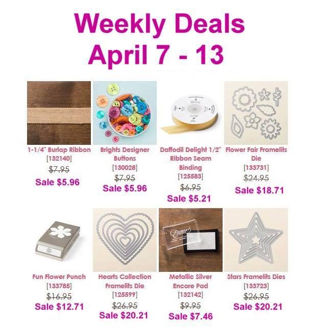 Maui Stamper Weekly Deals April 7 - 13, 2015