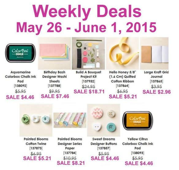 Weekly Deals Maui Stamper May 26-June 1, 2015