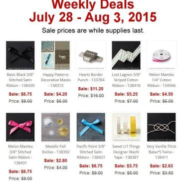 Maui Stamper Weekly Deal July 28 - Aug 3, 2015