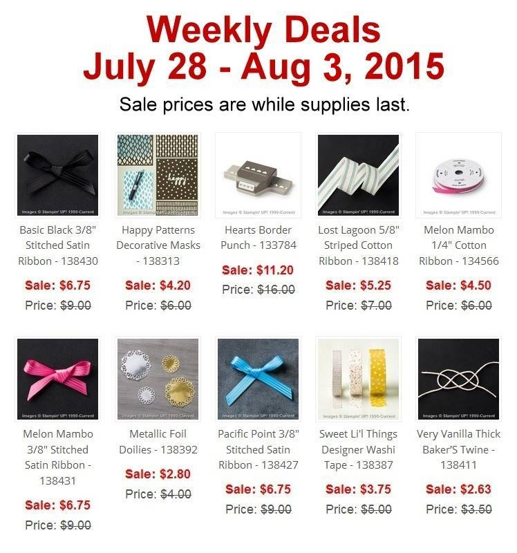 Maui Stamper Weekly Deal July 28 - Aug 3, 2015