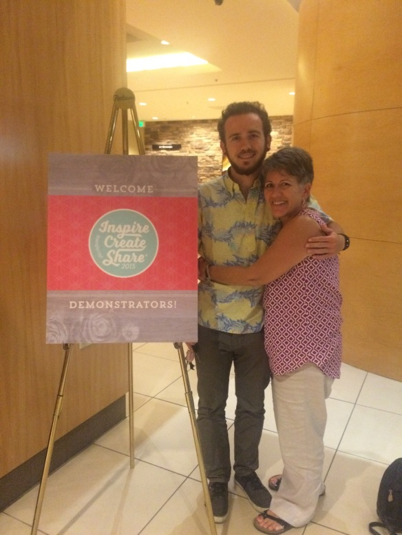 Maui Stamper Inspire.Creaate.Share.2015 Day 2
