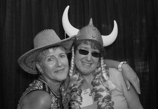 Maui Stamper with Sally at reunion