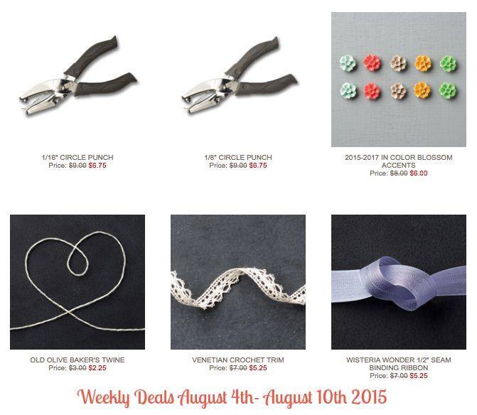 Maui Stamper Weekly Deals August 4 - 10, 2015