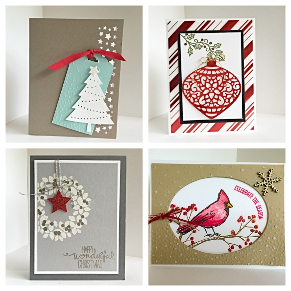 Maui Stamper Crafting Christmas Cards November 14, 2015