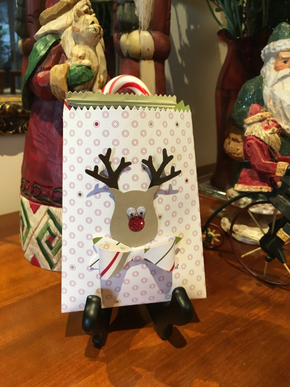 MauiStamper Reindeer Treat bag