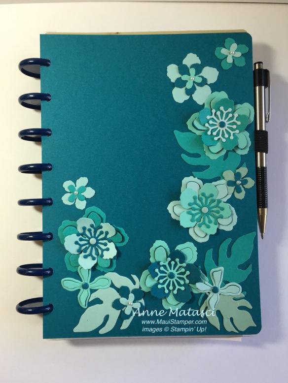 Maui Stamper Botanical Gardens Bundle journal