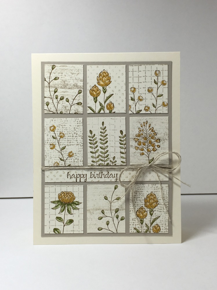Maui Stamper Flowering FIelds with Timeless Textures