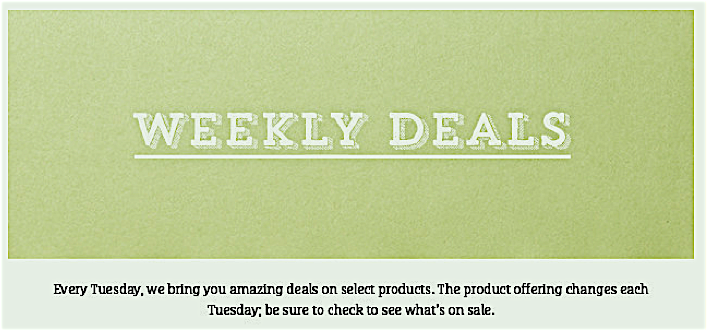Weekly Deals Header