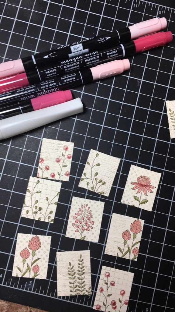 Maui Stamper Flowering Fields in Blushing Bride