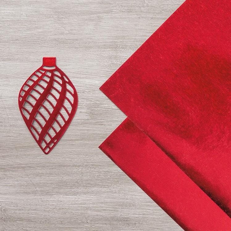 Maui Stamper Red Foil Sheets
