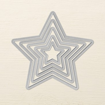 Maui Stamper Stars Framelit Dies