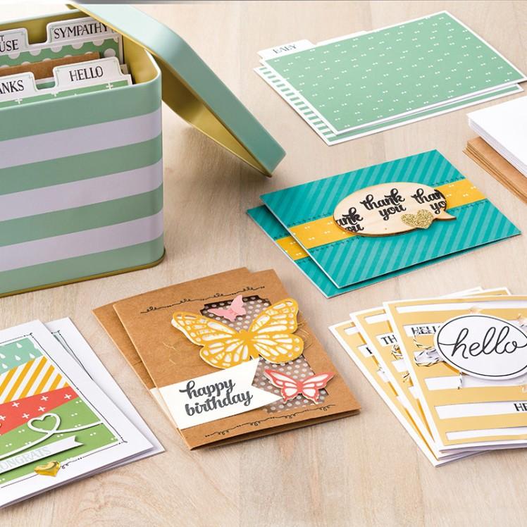 Maui Stamper Tin of Cards Kit