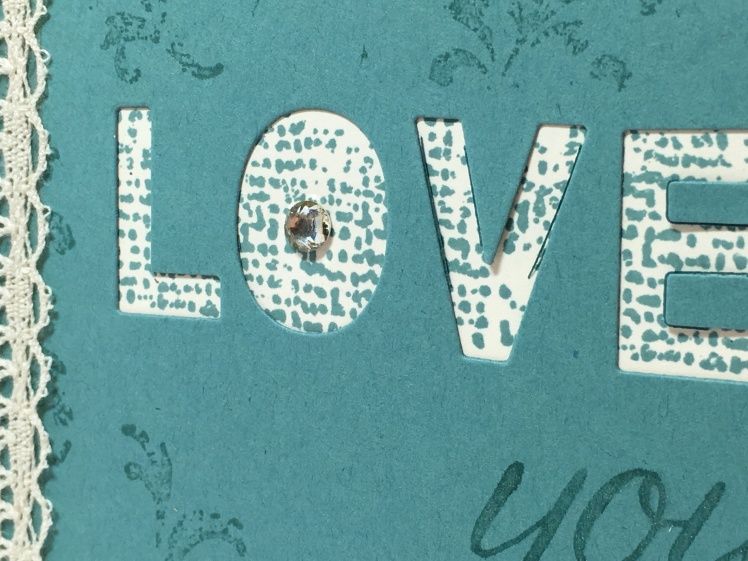 Maui Stamper Timeless Textures Little Letters