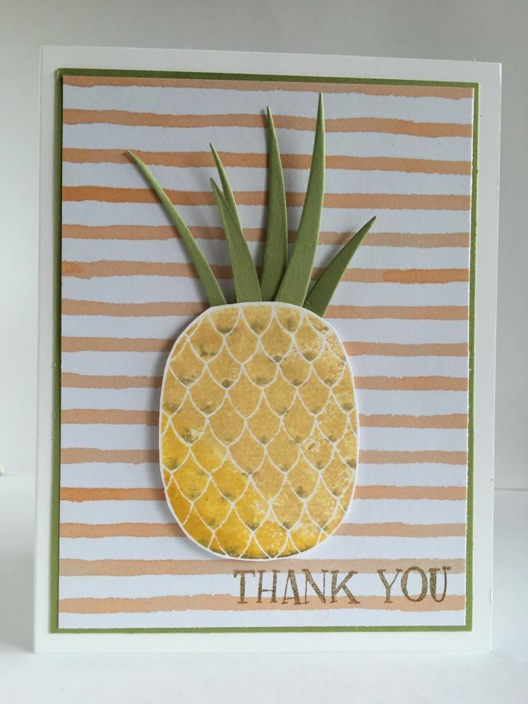 Maui Stamper Fresh Fruit Pineapple