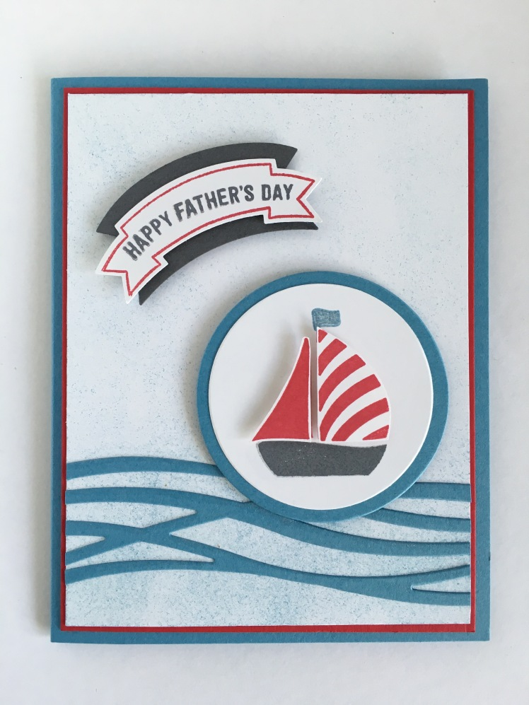 Maui Stamper Swirly Bird Fathers Day